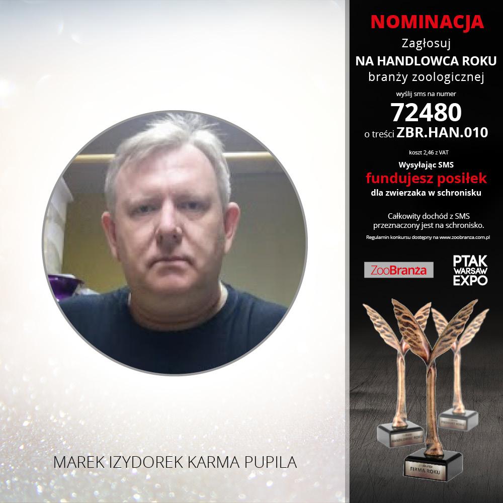 MAREK IZYDOREK FIRMA KARMA PUPILA
