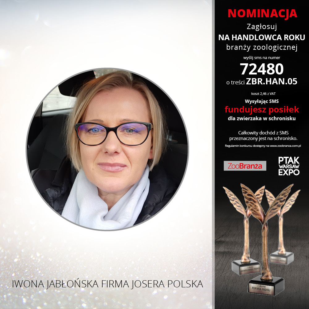 IWONA JABŁOŃSKA FIRMA JOSERA POLSKA