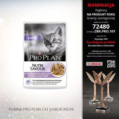PURINA PRO PLAN CAT JUNIOR INDYK