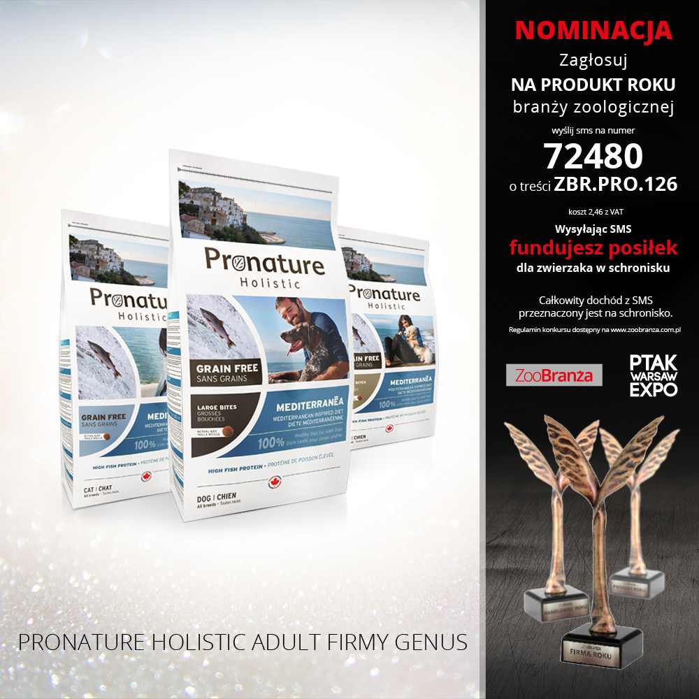 PRONATURE HOLISTIC ADULT FIRMY GENUS