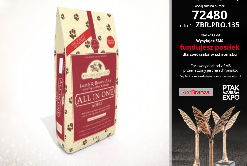 NATURAL DOG FOOD COMPANY – KARMA HOLISTYCZNA Z JAGNIĘCINĄ