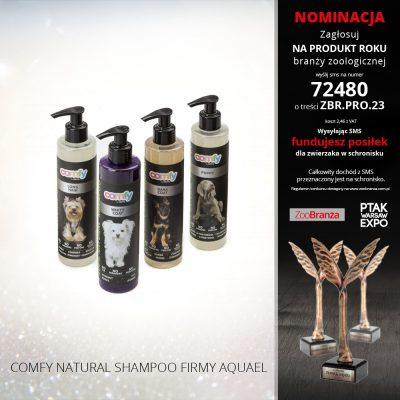 COMFY NATURAL SHAMPOO FIRMY AQUAEL