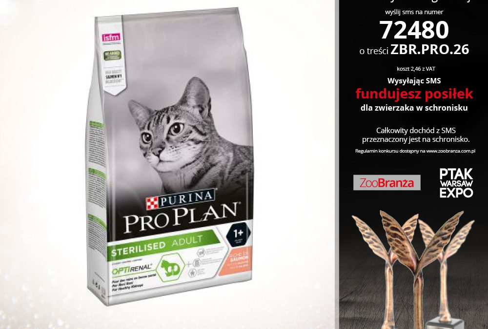 PURINA PRO PLAN STERILISED ŁOSOŚ