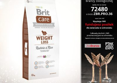 BRIT CARE NEW WEIGHT LOSS RABBIT & RICE