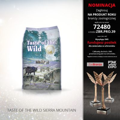 TASTE OF THEWILD SIERRA MOUNTAIN