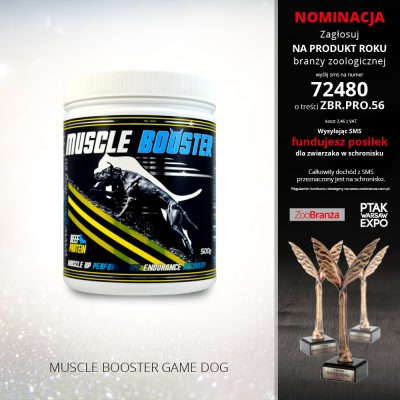 MUSCLE BOOSTER GAME DOG