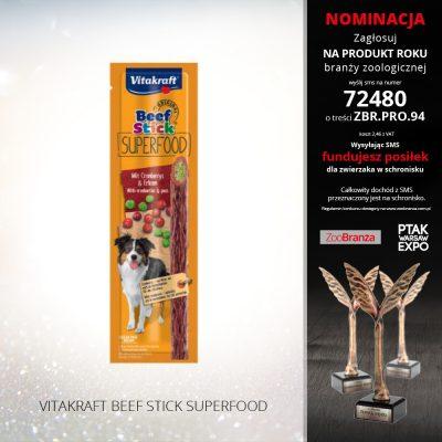 VITAKRAFT BEEF STICK SUPERFOOD